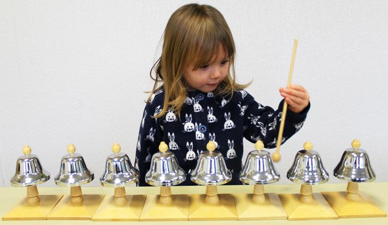 Cours de musique en maternelle